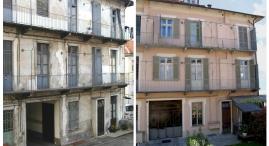 restauro della facciata interna di Corso Casale