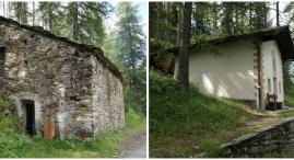 Immerso nella natura un sentiero con piccoli ricoveri, una chiesetta, abbeveratoi in legno o in pietra; d'inverno diventa pista per sci da fondo
